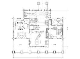 stoneridge luxury log home plan