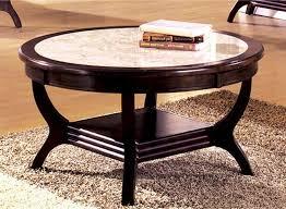 round stone top coffee table stone round coffee table writehookstudio com