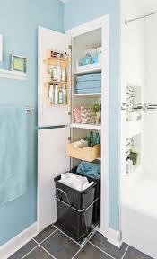 Tiny Bathroom Storage Ideas by Best 25 Bathroom Closet Ideas On Pinterest Bathroom Closet