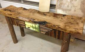 Barn Wood Sofa Table by Sofa New Life For A Rustic Sofa Table And Also Stunning Rustic