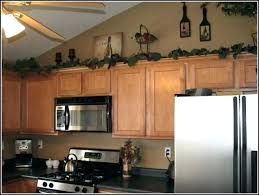 decorating ideas for above kitchen cabinets kitchen cabinets decor ideas thecolumbia club