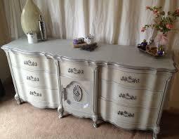 vintage french provincial dresser paris grey silver d vintage