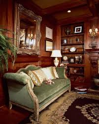 Wooden Paneling by Warm Cottage Inspired Living Room With Wood Paneling White Wood