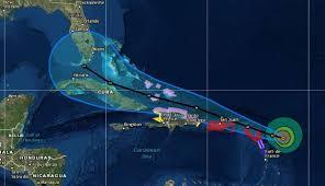hurricane irma makes first landfall in northeast caribbean islands