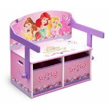 bureau enfant princesse banc coffre pupitre princesses disney chambre bureau mobilier