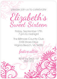 sweet 16 invitations templates free musicalchairs us