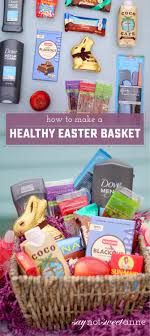 healthy easter baskets healthier easter basket alternatives and printable cards sweet