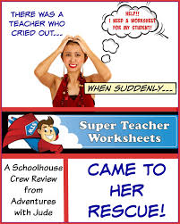 adventures with jude super teacher worksheets a schoolhouse crew