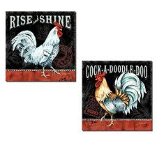 Black And White Rooster Decor Rooster Home Decor Olivia Decor Decor For Your Home And Office