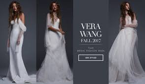 vera wang wedding bridal week wedding dresses from vera wang fall 2017