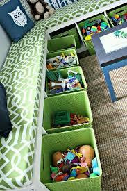 Toy Box With Bookshelves by Best 25 Toy Storage Bins Ideas On Pinterest Kids Storage