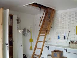 using drop down attic stairs founder stair design ideas