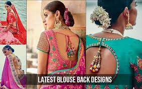15 evergreen and trendy saree blouse back designs