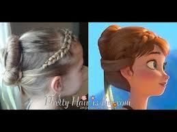 anna from frozen hairstyle anna coronation hairstyle from disney s frozen youtube