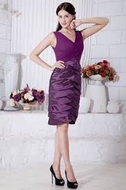 purple dresses for weddings knee length knee length wedding guest dresses agnesgown com