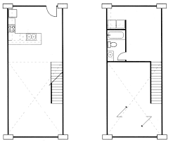 One Room Apartment Floor Plans by Loft Apartment Floor Plans