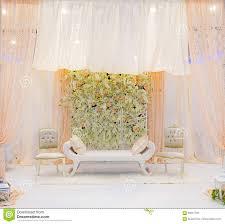 Wedding Stage Chairs Wedding Stage Stock Photo Image 69461792