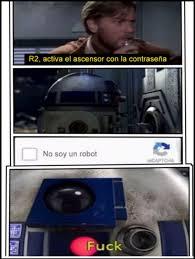R2d2 Meme - cu磧nto cabr祿n b禳squeda de r2d2 en cuantocabron com