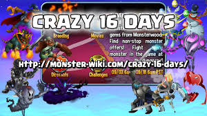 Halloween Monster List Wiki by Crazy 16 Days Monster Legends Wiki