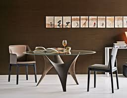 cuisine molteni table in modern glass design the arc by molteni