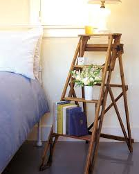 bedroom organization tricks martha stewart stepladder bed stand
