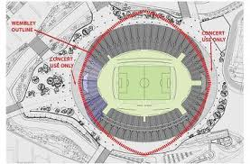tottenham wembley seating plan away fans spurs bid would be a huge waste the sun