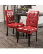 Leather Dining Armchair Alert Red Leather Dining Chairs Deals