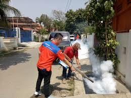Sisir Indo basmi jentik nyamuk tim rescue perindo sisir perkungan di