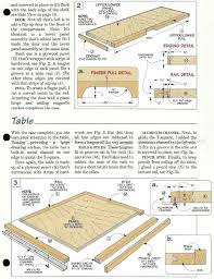 Drafting Table Height by 373 Fold Down Drafting Table Plans Workshop Solutions