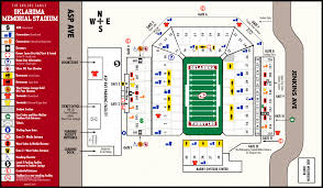 University Of Arizona Map Sports M Footbl Archive M Footbl Memorial Stadium Oklahoma Sooners