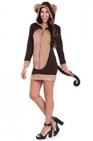Monkey Halloween Costumes Halloween Costumes Women Tipsy Elves