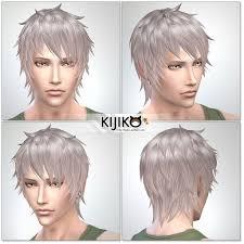 my sims 4 blog kijiko shaggy short hair for males u0026 females