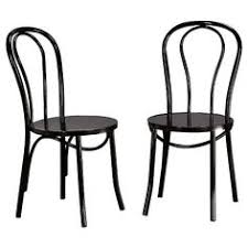 Metal Bistro Chairs Emery Metal Bistro Chair Set Of 2 Threshold Target Work
