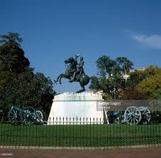 clark mills equestrian statue of andrew jackson in lafayette