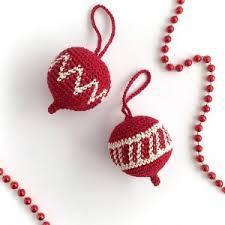 ornament crochet pattern conkers