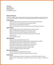 Dancer Resume Sample 7 Dance Resume Templates Professional Resume List