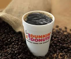 Coffee Dunkin Donut dunkin donuts new rainforest alliance certified roast blend