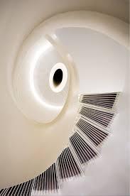 formwerkz architectss origami home design circular stair from