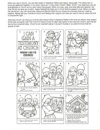 primary 3 manual lesson 40 worshiping at church journal page