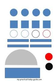 free printable star wars r2d2 droid craft template this is a