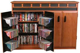 Vhs Storage Cabinet Amish Dvd Cabinet Dvd Cabinets And Media For Cd Storage Prepare 14