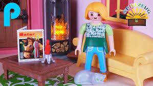Wohnzimmer Einrichten Familie Wohnzimmer Mit Kamin Ofen 5308 Playmobil Puppenhaus Kamin