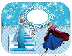 Extreme Festa Tema Frozen para Imprimir Grátis - Convites Digitais Simples &SL39