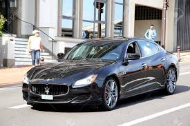 maserati black monte carlo monaco august 2 2014 black luxury sedan maserati