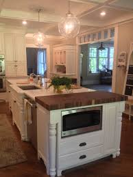 countertops butcher block kitchen island taupe kitchen cabinets