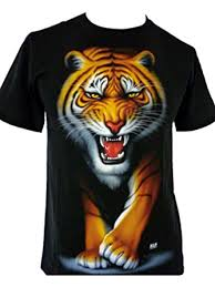 mens tiger t shirts indian bengal tiger white tiger cubs t