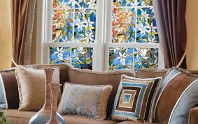 Opaque Window Film Lowes by Decorating Fascinating Artscape Window Film With Simple Frosted Decor