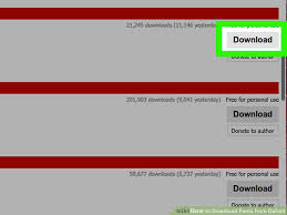 dafont free safe how to download fonts from dafont 7 steps with pictures