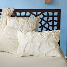 Who Invented The Duvet Organic Cotton Pleated Bedding From West Elm Apartment Therapy