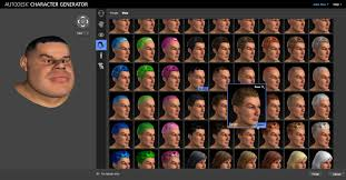 hair generator autodesk rolls out cloud based 3d character generator animation